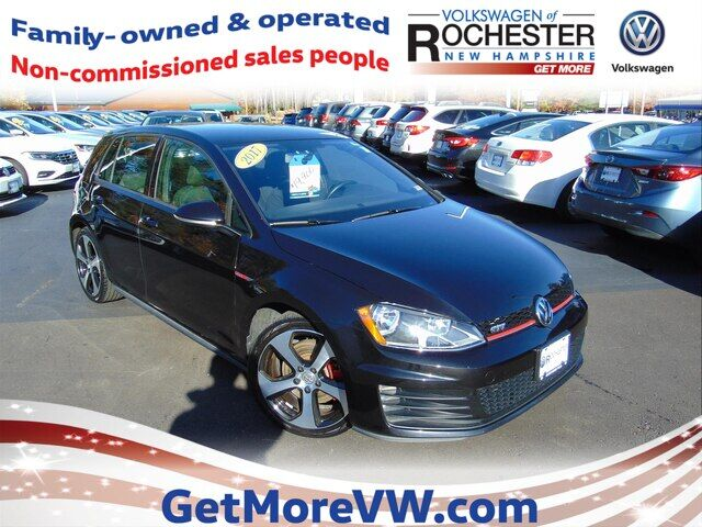 2017 Volkswagen Golf GTI S 4-Door Rochester NH