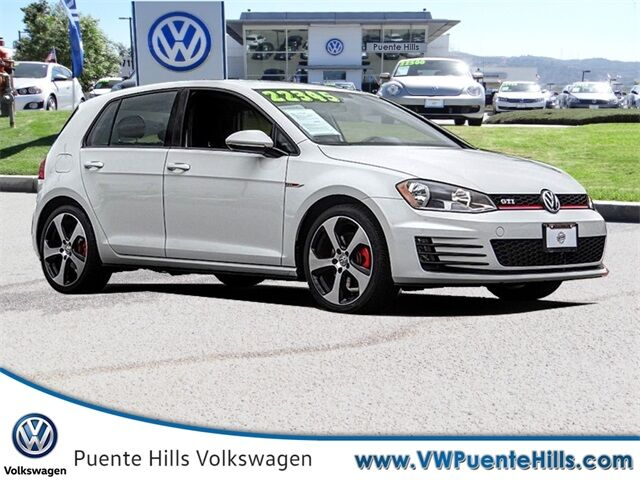 2017 Volkswagen Golf GTI S City of Industry CA