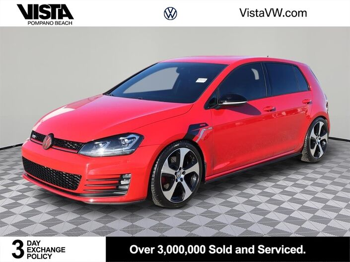 2017 Volkswagen Golf GTI S Pompano Beach FL