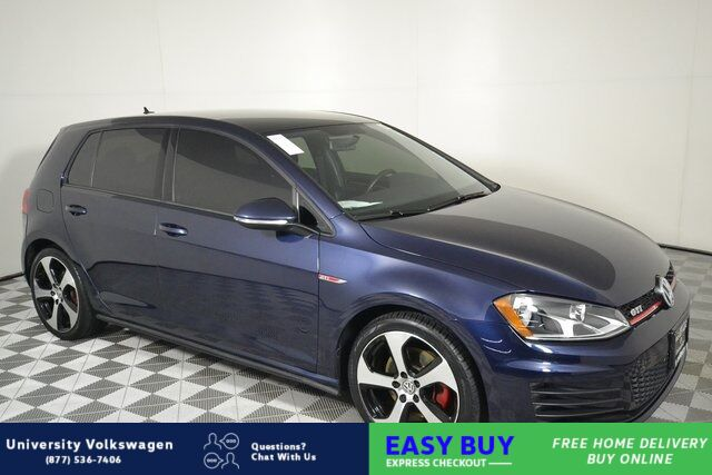 2017 Volkswagen Golf GTI S Seattle WA