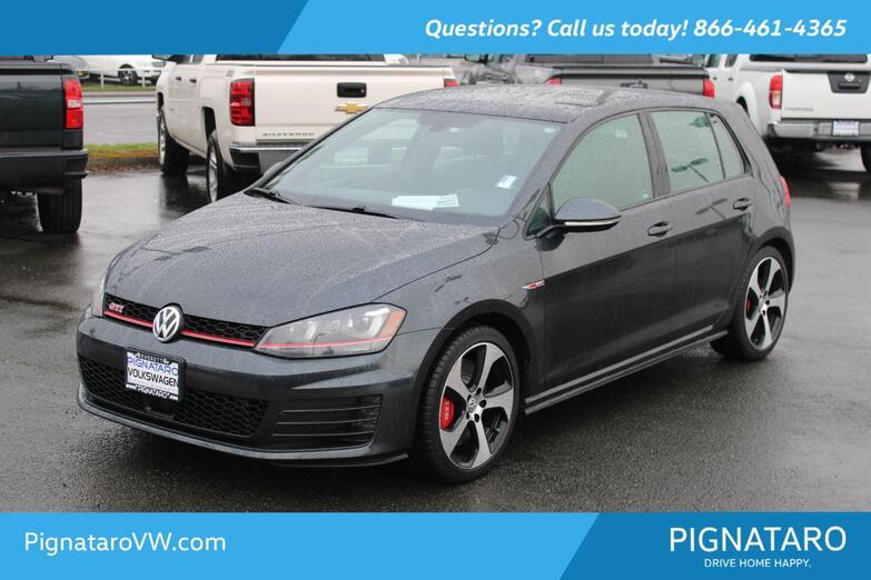 2017 Volkswagen Golf GTI SE Everett WA