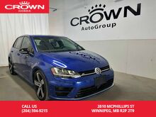 2017_Volkswagen_Golf R_/Tech Package/ accident-free/low kms_ Winnipeg MB