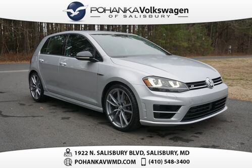 2017_Volkswagen_Golf R_DCC & Navigation 4Motion ** TURBO ALL WHEEL DRIVE **_ Salisbury MD