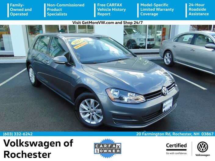 2017 Volkswagen Golf TSI S 4-Door Rochester NH