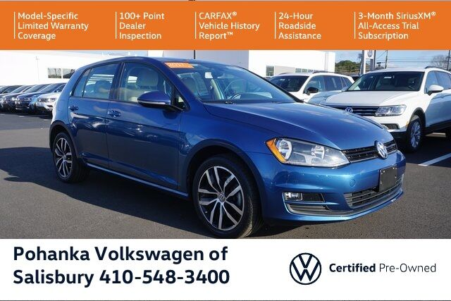 2017 Volkswagen Golf TSI SE 4-Door ** VW CERTIFIED ** BUMPER TO BUMPER WARRANTY ** Salisbury MD