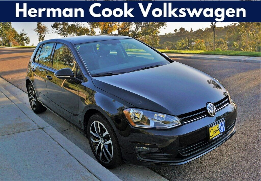 2017 Volkswagen Golf TSI SE 4-Door Encinitas CA