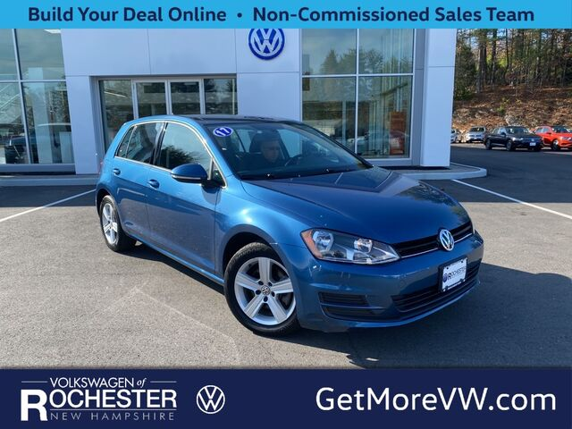 2017 Volkswagen Golf TSI SE 4-Door Rochester NH