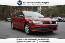 2017 Volkswagen Jetta 1.4T S ** ONE OWNER ** 0% FINANCING AVAILABLE **