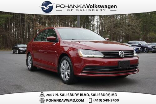 2017_Volkswagen_Jetta_1.4T S ** ONE OWNER ** 0% FINANCING AVAILABLE **_ Salisbury MD
