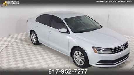 2017_Volkswagen_Jetta_1.4T S CRUISE CONTROL,BCK-CAM,BLUETOOTH..._ Euless TX