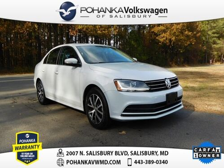 2017_Volkswagen_Jetta_1.4T SE ** CERTIFIED ** LEATHER SUNROOF ** CLEAN CARFAX **_ Salisbury MD