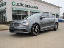 2017_Volkswagen_Jetta_1.4T SE 5-Speed Manual Transmission Sun/Moonroof, Back-Up Camera, Blind Spot Monitor, Bluetooth_ Plano TX