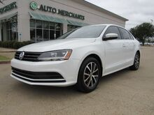 2017_Volkswagen_Jetta_1.4T SE 6A. BACKUP CAM, BLIND SPOT, CROSS TRAFFIC, HEATED SEATS, BLUETOOTH, APPLE CAR PLAY/ANDROID_ Plano TX