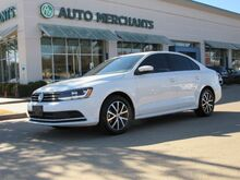 2017_Volkswagen_Jetta_1.4T SE 6A BACKUP CAMERA, SUNROOF,  HEATED SEATS, PUSH BUTTON START, BLUETOOTH CONNECTIVITY_ Plano TX