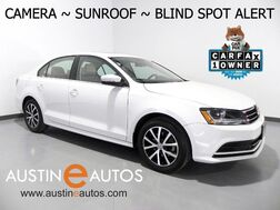 2017_Volkswagen_Jetta 1.4T SE_*BACKUP-CAMERA, BLIND SPOT ALERT, MOONROOF, KEYLESS ENTRY/START, TOUCH SCREEN, BLUETOOTH PHONE & AUDIO_ Round Rock TX
