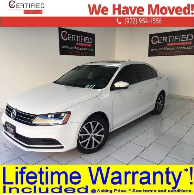 2017 Volkswagen Jetta 1.4T SE SUNROOF REAR CAMERA BLIND SPOT ASSIST HEATED LEATHER SEA Dallas TX