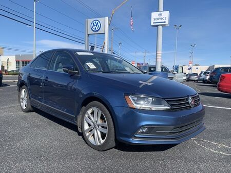 2017_Volkswagen_Jetta_1.8T SEL ** LEATHER NAV SUNROOF ** CERTIFIED ** CLEAN CARFA_ Salisbury MD