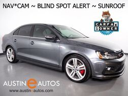 2017_Volkswagen_Jetta GLI_*NAVIGATION, BLIND SPOT ALERT, BACKUP-CAMERA, TOUCH SCREEN, MOONROOF, HEATED SEATS, FENDER AUDIO, BLUETOOTH, APPLE CARPLAY_ Round Rock TX