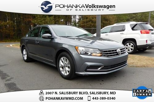 2017_Volkswagen_Passat_1.8T S ** CERTIFIED ** CLEAN CARFAX ONE OWNER **_ Salisbury MD