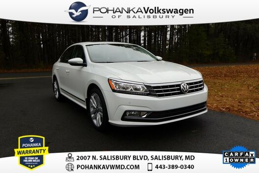 2017_Volkswagen_Passat_1.8T SE w/Technology ** LEATHER NAVI SUNROOF ** CERTIFIED **_ Salisbury MD