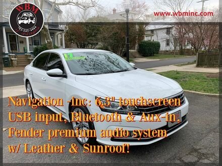 2017_Volkswagen_Passat_1.8T SEL Premium_ Arlington VA