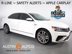 2017_Volkswagen_Passat R-Line_*BLIND SPOT ALERT, COLLISION ALERT w/BRAKING, BACKUP-CAMERA, TOUCH SCREEN, HEATED SEATS, LED HEADLIGHTS, 19 INCH WHEELS, BLUETOOTH, APPLE CARPLAY_ Round Rock TX