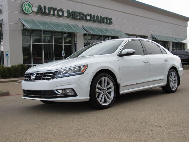 2017 Volkswagen Passat SEL Premium 6A LEATHER, SUNROOF, ADAPTIVE CRUISE CONTROL, BACKUP CAMERA, NAVIGATION, HTD SEATS Plano TX