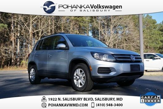 2017_Volkswagen_Tiguan_2.0T S ** VW CERTIFIED ** 2 YEAR / 24K MILE WARRANTY **_ Salisbury MD