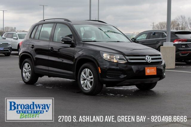 2017 Volkswagen Tiguan 2.0T S 4Motion Green Bay WI