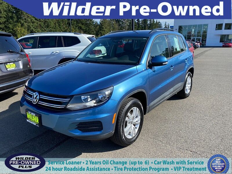 2017 Volkswagen Tiguan 4d SUV S Port Angeles WA