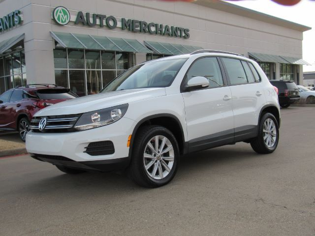 2017 Volkswagen Tiguan S  TURBO, BACK-UP CAMERA, BLUETOOTH CONNECTION, HEATED MIRRORS, AUTOMATIC HEADLIGHTS Plano TX