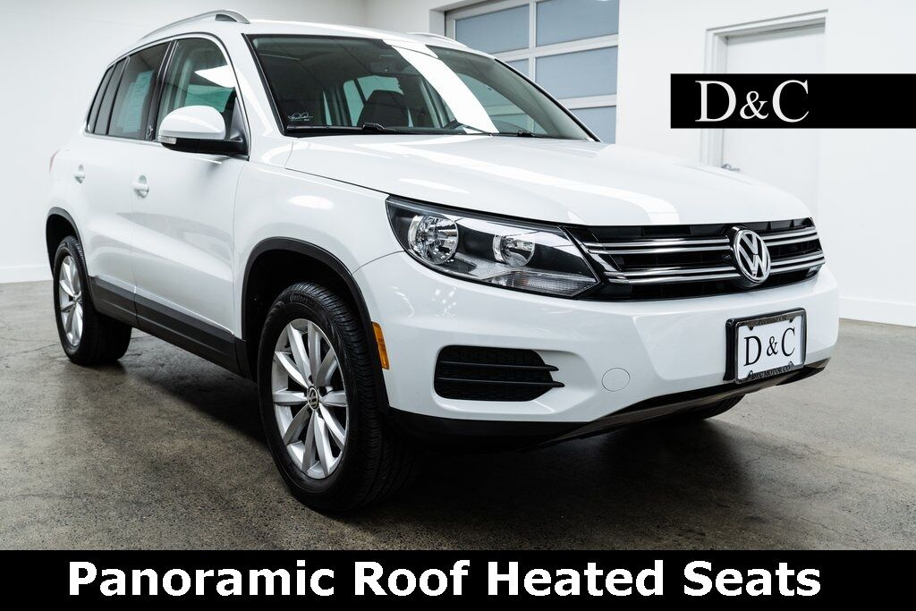2017 Volkswagen Tiguan Wolfsburg 4Motion Panoramic Roof Heated Seats Portland OR