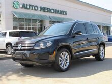 2017_Volkswagen_Tiguan_Wolfsburg Edition 2.0L Turbocharged, 4 Cylinder Engine Panoramic Roof, Back-Up Camera, Bluetooth_ Plano TX