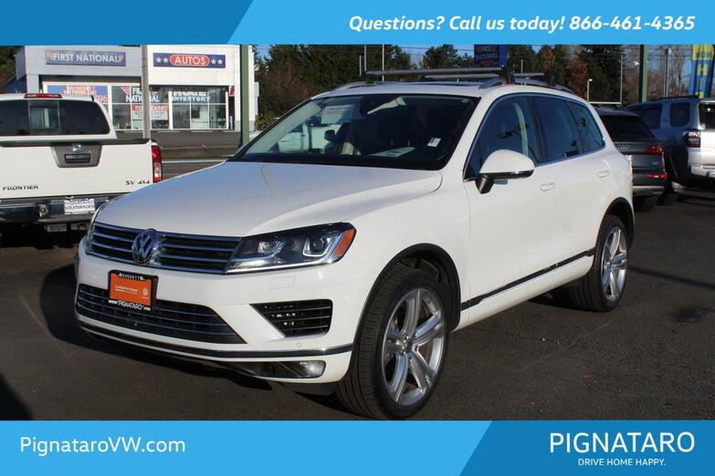2017 Volkswagen Touareg V6 Executive Everett WA