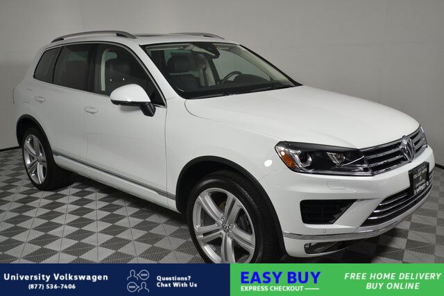 2017 Volkswagen Touareg V6 Executive Seattle WA