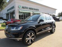 2017_Volkswagen_Touareg_V6 Wolfsburg Edition LEATHER, PANORAMIC SUNROOF, ADAPTIVE CRUISE, BLIND SPOT, UNDER FACTORY WARRANTY_ Plano TX