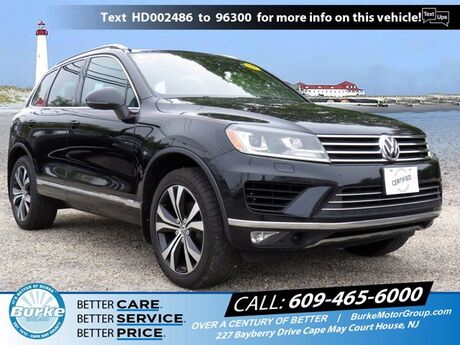 2017 Volkswagen Touareg Wolfsburg Edition South Jersey NJ