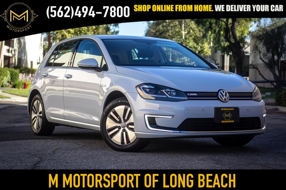 2017_Volkswagen_e-Golf_SEL Premium Hatchback Sedan 4D_ Long Beach CA