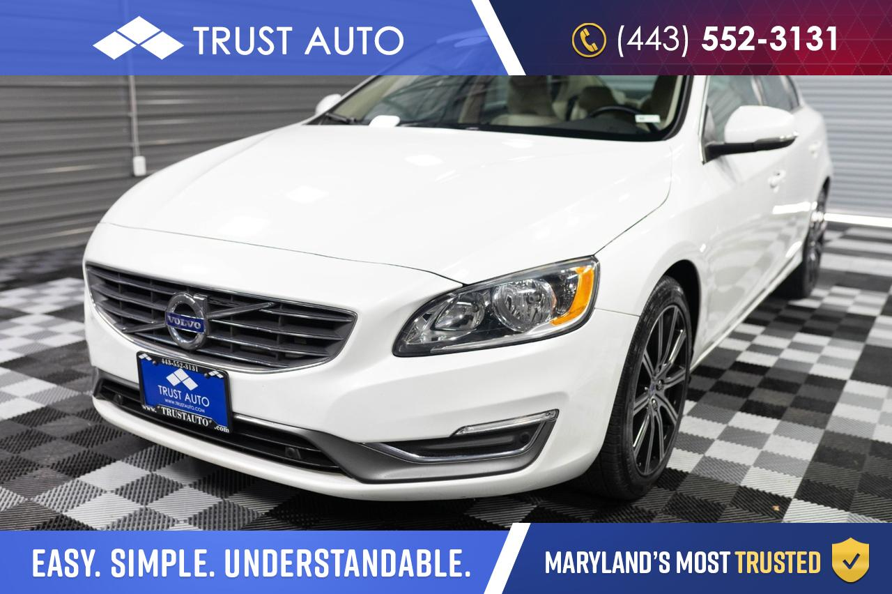 2017 Volvo S60 T5 AWD Inscription Luxury Sedan Sykesville MD