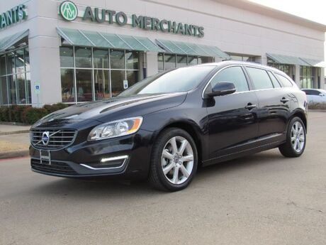 2017 Volvo V60 T5 Premier FWD  LEATHER SEATS, NAVIGATION,  BACKUP CAMERA, SUNROOF, HEATED FRONT SEATS Plano TX