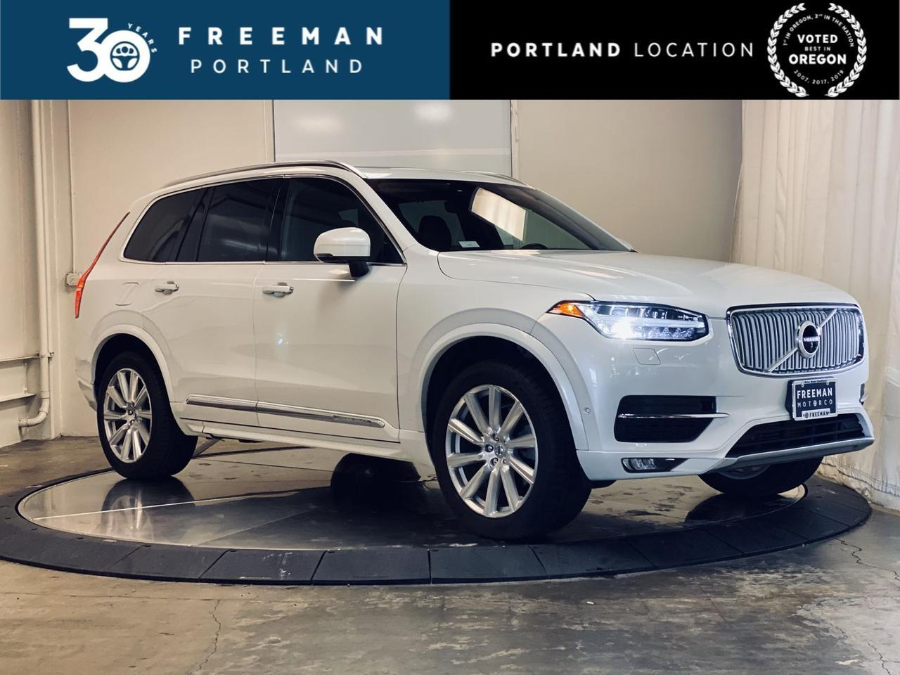 2017 Volvo XC90 Inscription Pilot Assist Adaptive Cruise Surround Cam Portland OR