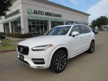 2017_Volvo_XC90_T6 Momentum AWD LEATHER, ADAPTIVE CRUISE CONTROL, BLIND SPOT, HTD FRONT STS, KEYLESS START_ Plano TX