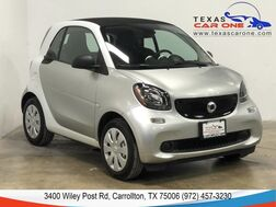 2017_smart_fortwo_PASSION COUPE SPORT PACKAGE CRUISE CONTROL STEERING WHEEL CONTROLS_ Carrollton TX