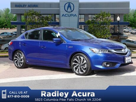 2018 Acura ILX Technology Plus and A-SPEC Packages Falls Church VA