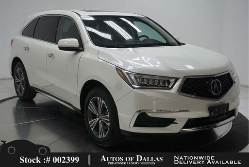 2018_Acura_MDX_3.5L CAM,SUNROOF,HTD STS,18IN WLS,3RD ROW_ Plano TX