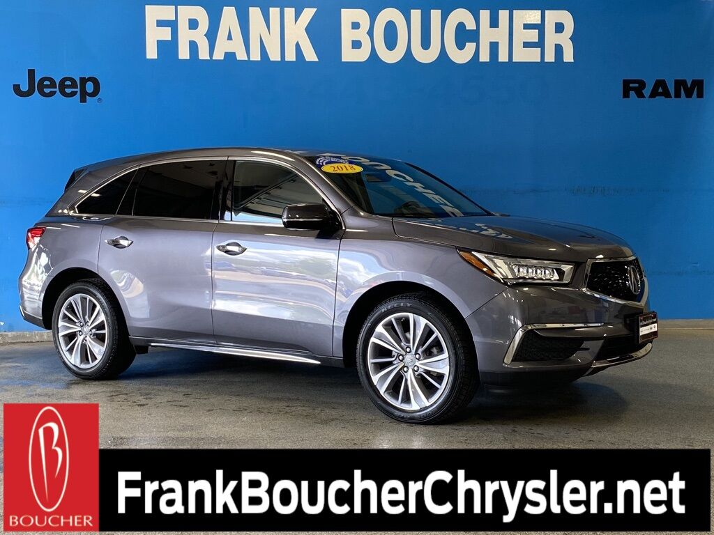2018 Acura MDX 3.5L SH-AWD w/Technology Package Janesville WI