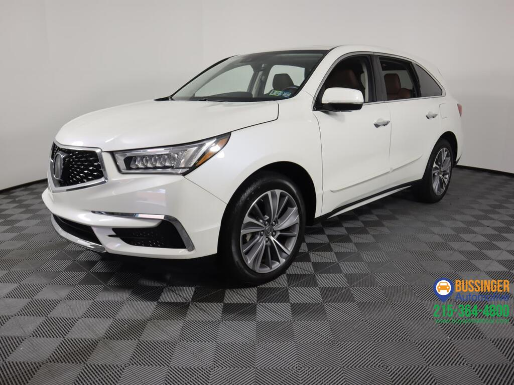 2018 Acura MDX All Wheel Drive w/Technology Package Feasterville PA