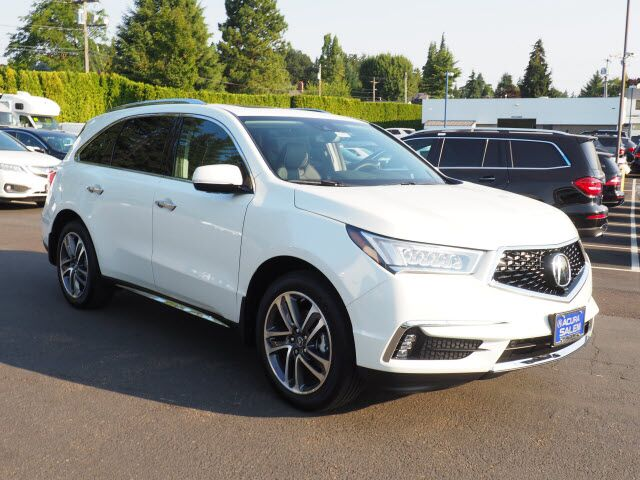 2018 Acura MDX SH-AWD with Advance Package Salem OR