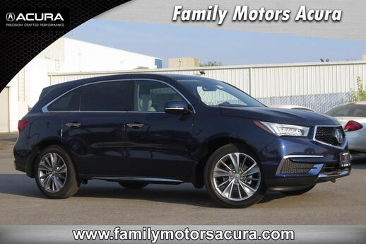 2018 Acura MDX SH-AWD with Technology Package Bakersfield CA