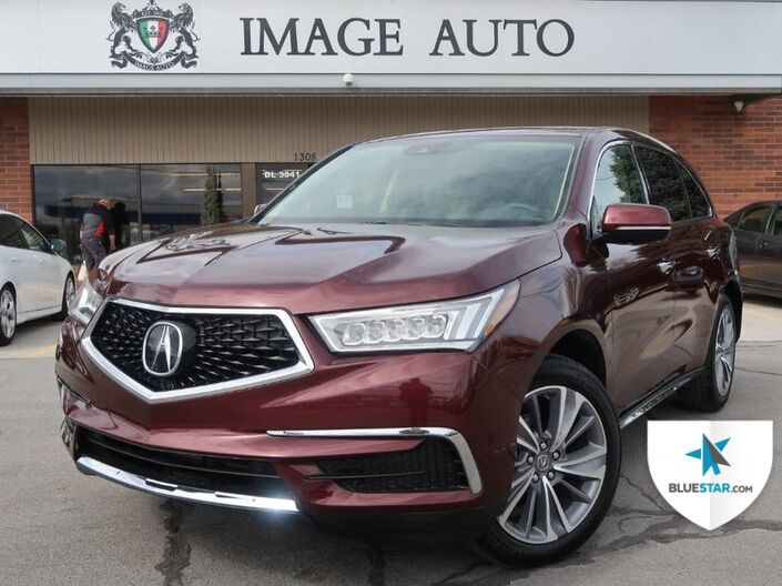 2018 Acura MDX Tech Pkg West Jordan UT